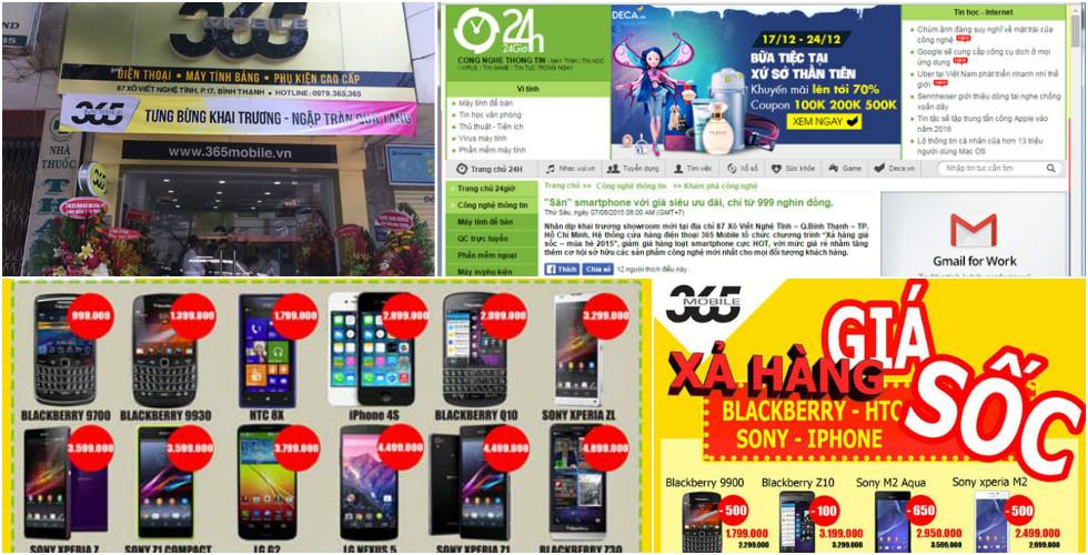Bài PR đăng báo 24h.com.vn cho siêu thị 365Mobile | Dịch Vụ Viết Bài PR  đăng báo & Marketing Online - Bài viết pr hay